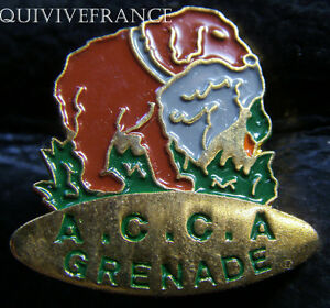 BG5447-INSIGNE-PIN-039-S-Association-Communale-de-Chasse-Agreee-A-C-C-A-GRENADE