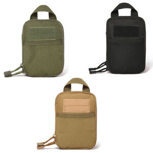 New-Outdoor-1000D-Tactical-Molle-Medical-First-Aid-Pocket-Organizer-Pouch-Bag