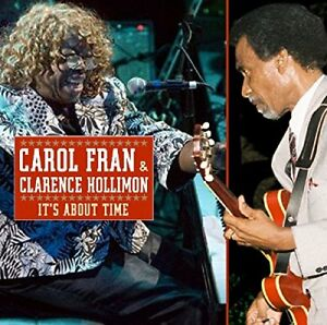 Carol-Fran-and-Clarence-Hollimon-It-039-s-About-Time-CD