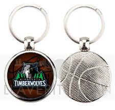 MINNESOTA TIMBERWOLVES NBA BASKETBALL KEYRING-KEYCHAIN-PORTACHIAVI-LLAVERO