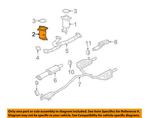 Fits 2001-02-03-04-05-06 Ford Escape 3.0LV6 front Manifold W//Cat.Converter