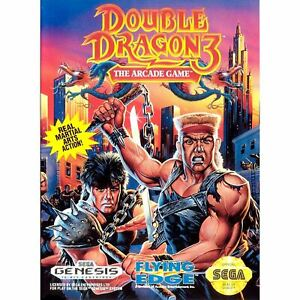 Double-Dragon-3-The-Arcade-Game-Sega-Genesis-Game-Complete-CLEAN-VG