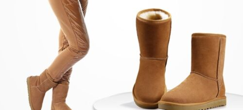 Women/'s Winter Leather//Suede Ankle Snow Boots 5 Colors