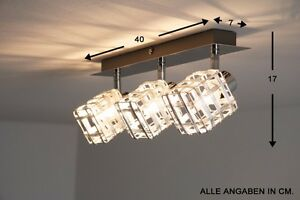 Lampadari Di Carta On Line : Plafoniera design cubi di metallo lampada da soffitto moderno