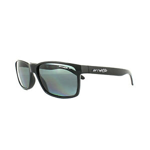3aacb74c69 Image is loading Arnette-Sunglasses-Slickster-4185-41-81-Black-Grey-