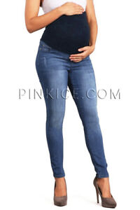 5e10a05f688ba Image is loading Celebrity-Pink-Maternity-Stretchy-Jegging-Pants-Full-Belly-
