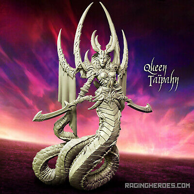 Raging Heroes Queen Taïpahn (Lust Elves Fantasy) Elf Matriarch Female Lord  | eBay