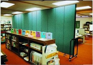 Screenflex 80 Tall 3 9 Panels Screen Portable Walls Partition Room