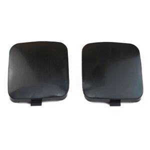 2Pcs Front bumper trailer tow hook eye covers caps for Toyota RAV4 2009-2012