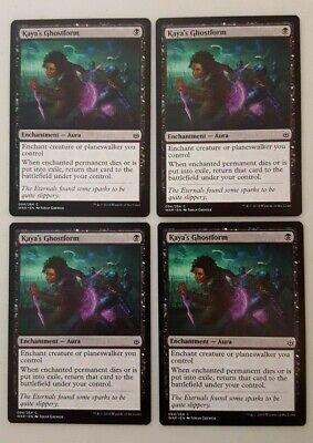 NEW 4x Kaya/'s Ghostform MTG War of the Spark