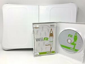 Wii Fit Balance Board and Game, Excellent At-Home Cardio Workout Exercise! MINT