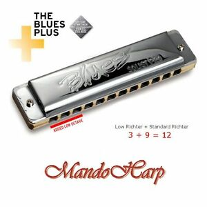 Seydel-Harmonica-11601-Solist-Pro-12-STEEL-Low-Octave-12-hole-24-reed-NEW