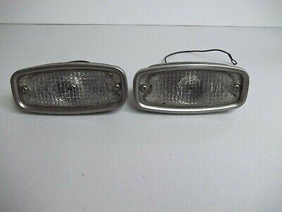 1968 Camaro Parking Lamp Lens Standard Clear Pair