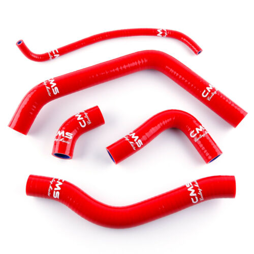 Red Silicone Radiator Cooling Hose Kit for Honda CBR600F3 1995 1996 1997 1998