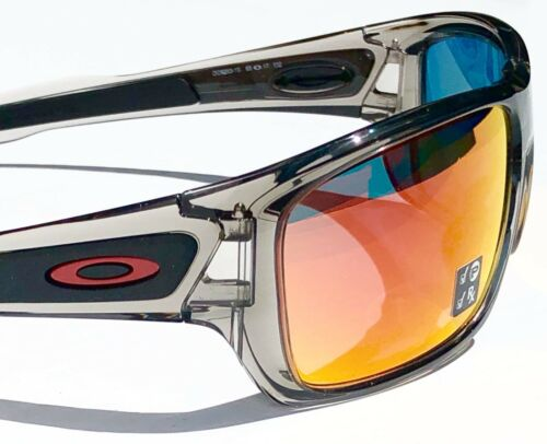 9562727c71 ... NEW  Oakley TURBINE Grey Ink frame POLARIZED Ruby Iridium Lens Sunglass  9263-10