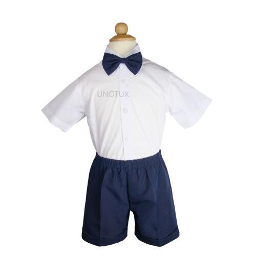 0M-3T Baby Boy /& Toddler Sailor Captain Vest Shorts Outfits Navy sz:0,1,2,3,4,5