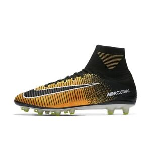 fe36df364 Nike Mercurial Superfly V AG-PRO UK 12 EUR 47.5 Laser Orange Black ...