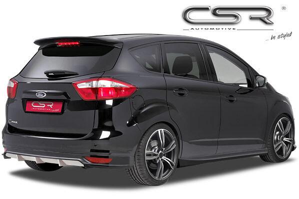 Ansatz Heckschürze Tuning hinten für Ford C-Max / Grand C-Max HA128