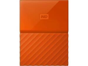 WD My Passport 3TB Orange Manufacturer Refurbished Hard Drive by Western Digital