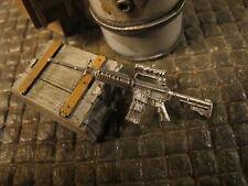 Gewehr M16 M16 A4 Metall US Army RC Panzer LKW Ladegut Diorama Deko Zubehör 1/16
