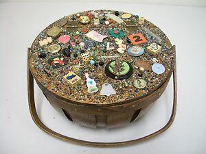 memory art assemblage found object outsider folk art treasure handle