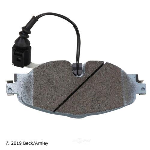 Disc Brake Pad and Hardware Kit-Set Front Beck//Arnley 085-7028