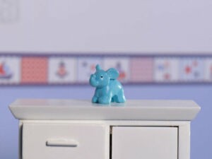 Elephant-Toy-Ornament-Dolls-House-Miniature-Nursery