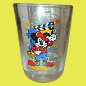 Disney World McDonalds Collection Glass Hollywood Studios Mickey Mouse Cup 2000