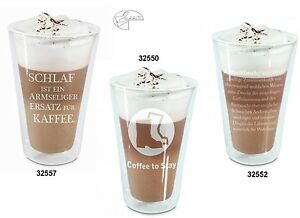 Thermoglas-Thermobecher-Thermo-Glas-Becher-Latte-Macchiato-Glas-250ml-Teeglas
