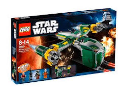 LEGO  STAR  WARS  BOUNTY  HUNTER  ASSAULT  GUNSHIP  #7930.  BRAND  NEW