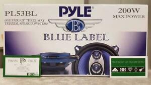 5-1/4 Pyle 3-Way Coaxial Car Speakers Mississauga / Peel Region Toronto (GTA) Preview