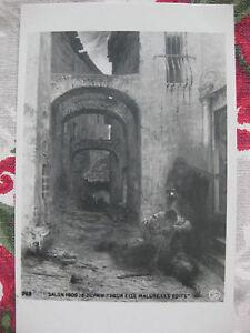 CPA-tableau-Salon-peinture-1906-Dupain-034-Pour-elle-malgre-les-edits-034-moeurs-duel