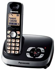 Panasonic kx-tg6521 principal Teléfono Inalámbrico Dect Con Contestador Automático kx-tg6522