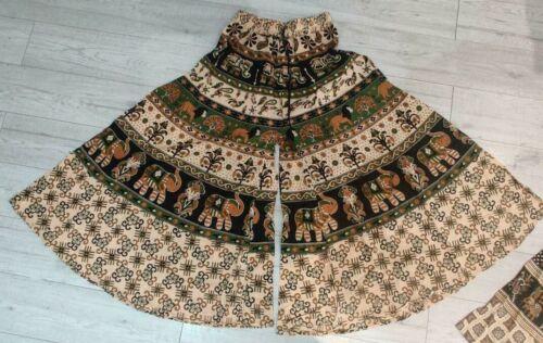 HIPPIE BOHO Party Festival Yoga Méditation Imprimer harem pantalon pyjamas