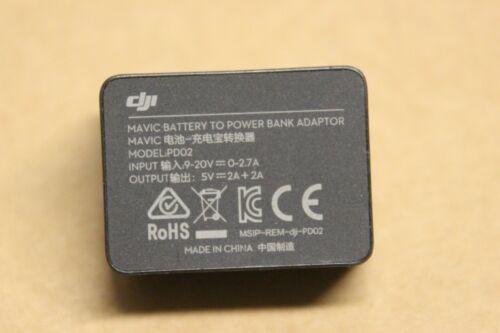 Occasion Original Genuine OEM Power Bank Adapter PD02 for DJI Mavic Pro