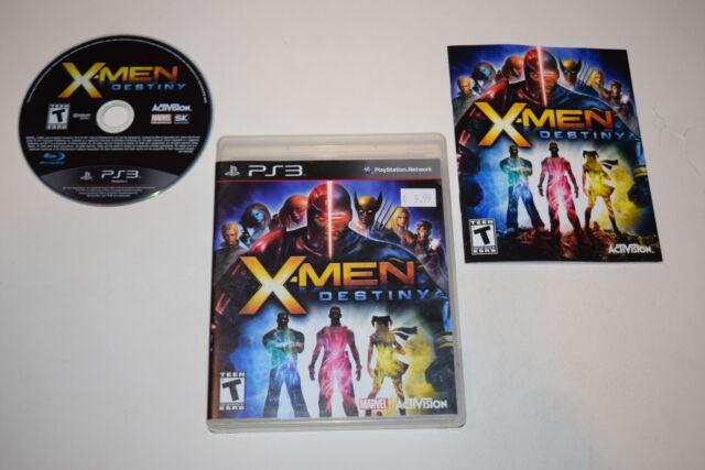 X-Men Destiny Playstation 3 PS3 Video Game Complete