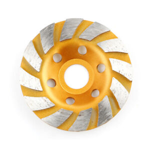 100mm Diamond Grinding Cup Wheel Disc Concrete Stone Cut Angle Grinder Cups Hot