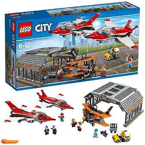 ULTIMA  NEW  60103 LEGO CITY AEROPUERTO ESPECTACULO AEREO ENVIO GRATIS PAYPAL