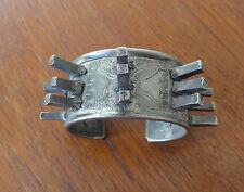 Ancien Bracelet Ethnique OULED NAÏL Argent Massif. Vintage Ethnic Silver Bangle.