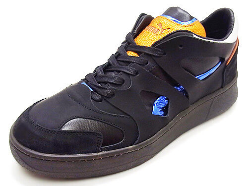 Alexander McQueen by PUMA McQ Move Lo Round Toe Leather SNEAKERS 9 for sale  online  ff0ea7c1a