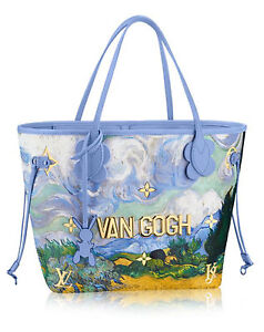 Image Is Loading Louis Vuitton Masters Neverfull Mm Jeff Koons Van