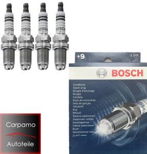4x-BOSCH-Zuendkerze-0242229878-FLR8LDCU-4-Zylinder-0-242-229-878-4Set-0242229654