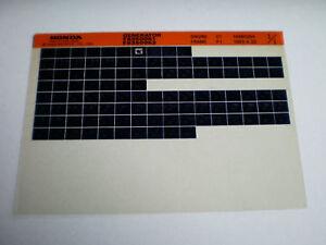 Microfich Spare Parts Catalog Honda Generator Es 3500 K1