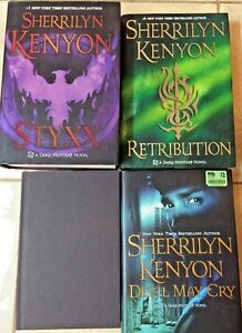 4-Sherrilyn-Kenyon-Books-Styxx-Retribution-Devil-May-Cry-amp-Seize-the-Night