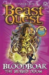 Bloodboar-the-Buried-Doom-Series-8-Book-6-Beast-Quest-Blade-Adam-Very-Good