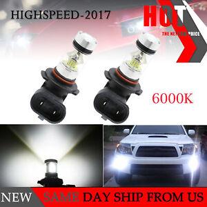 2PCS 9145 9140 LED 100W CREE 6000K White Fog Light Driving DRL Bulbs Ford F-150