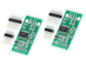 2-Stueck-24-Bit-Analog-digital-AD-Wandler-HX711-fuer-Arduino-Rasperry-Pi-DIY-Waage