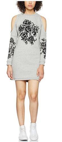 00152 Details about  /Miss Selfridge Petite Women/'s Flocked Dress UK6 RRP£35