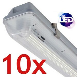 10x ip65 5ft 23w led low energy single tube strip light batten image is loading 10x ip65 5ft 23w led low energy single mozeypictures Image collections