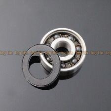 [2 pcs] 15268-2RSc 15*26*8 Hybrid Ceramic Si3N4 Ball Bearing 15x26x8 mm